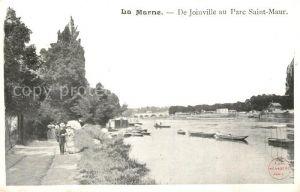 AK / Ansichtskarte Joinville le Pont Aux bords de la Marne de Joinville au Parc Saint Maur Joinville le Pont