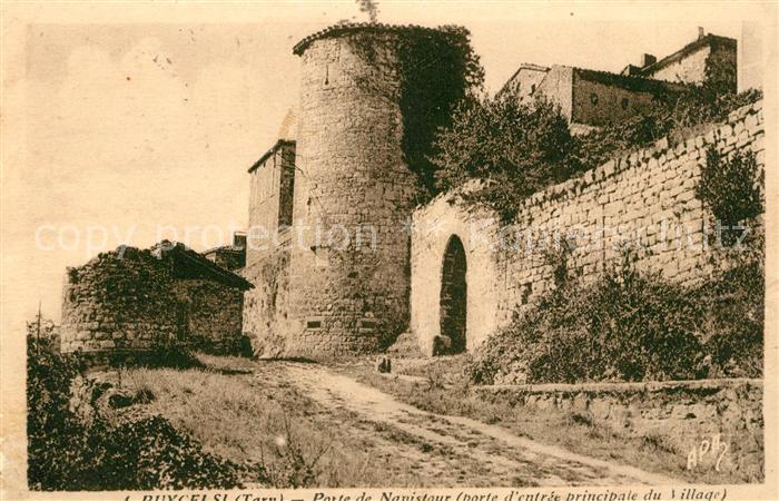 AK / Ansichtskarte Puycelci Porte de Navistour Porte d entree principale du Village Puycelci