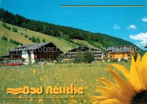 AK / Ansichtskarte Reuthe_Vorarlberg Kurhotel Moorheilbad Sonnenblume Reuthe Vorarlberg