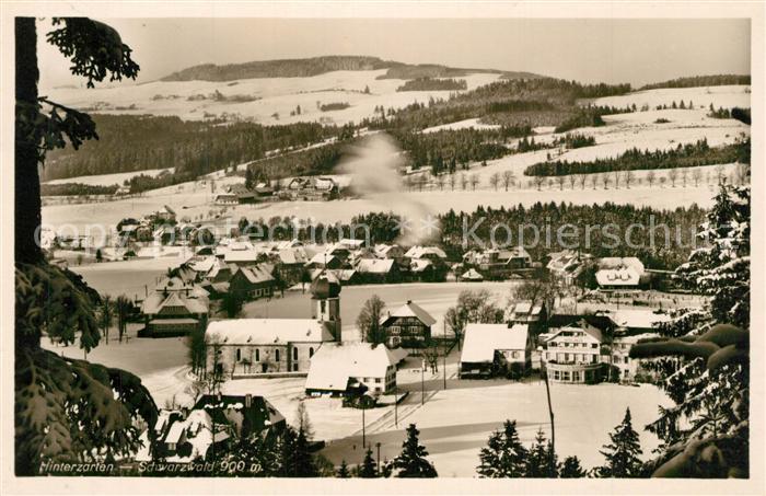 AK / Ansichtskarte Hinterzarten Winterlandschaft Hinterzarten