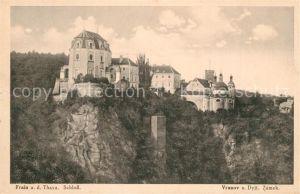 AK / Ansichtskarte Frain_Thaya Schloss Frain Thaya