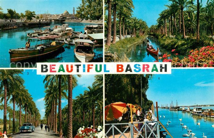 AK / Ansichtskarte Basra Casino Restaurant Basra