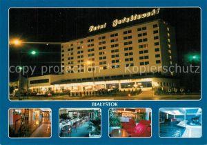 AK / Ansichtskarte Bialystok Hotel Golebiewski Bialystok