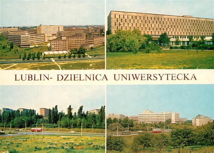 AK / Ansichtskarte Lublin Dzielnica Uniwersytecka Lublin