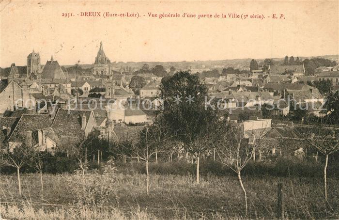 AK / Ansichtskarte Dreux Vue panoramique Dreux