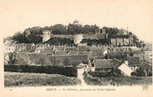 AK / Ansichtskarte Dreux Chateau vue prise de Sait Thibault Dreux