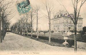 AK / Ansichtskarte Ecquevilly Vue de laTerrasse Ecquevilly