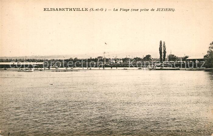 AK / Ansichtskarte Elisabethville Plage Juziers Elisabethville