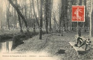 AK / Ansichtskarte Neauphle le Vieux Cressay Derriere le Moulin Neauphle le Vieux