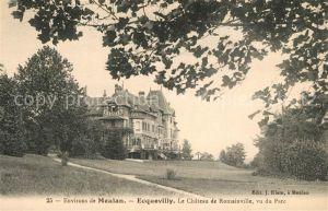 AK / Ansichtskarte Ecquevilly Meulan Chateau de Romainville Ecquevilly