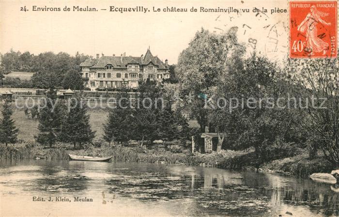 AK / Ansichtskarte Ecquevilly Chateau de Romainville Ecquevilly