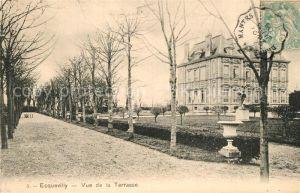AK / Ansichtskarte Ecquevilly Vue de la Terrasse Ecquevilly