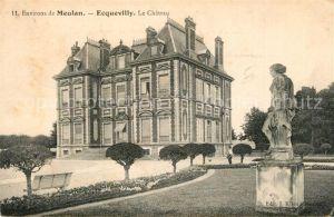 AK / Ansichtskarte Ecquevilly Chateau Ecquevilly