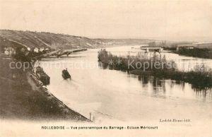 AK / Ansichtskarte Rolleboise Panorama Barrage  Rolleboise