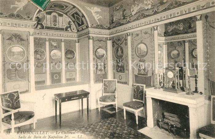 AK / Ansichtskarte Rambouillet Chateau Salle de Bain de Napoleon Rambouillet