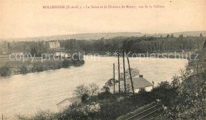 AK / Ansichtskarte Rolleboise Chateau de Rosny  Rolleboise