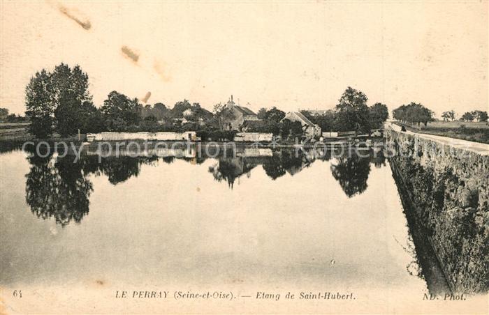 AK / Ansichtskarte Le_Perray en Yvelines Etang de Saint Hubert Le_Perray en Yvelines