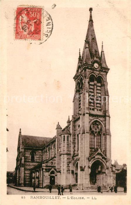 AK / Ansichtskarte Rambouillet Eglise Rambouillet