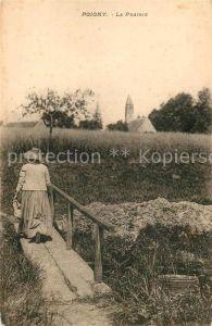 AK / Ansichtskarte Poigny La Prairie Poigny