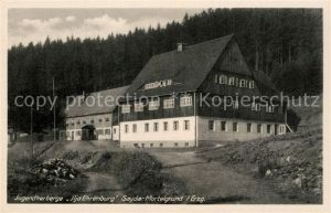 AK / Ansichtskarte Sayda Jugendherberge Ilja Ehrenburg im Mortelgrund Sayda