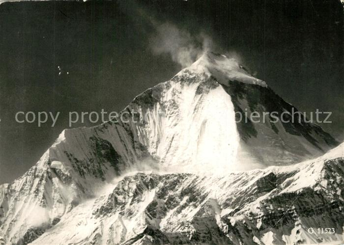 AK / Ansichtskarte Himalaja Dhaulagire Expedition Schweiz Himalaja
