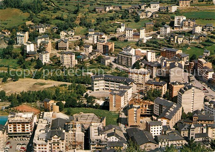 AK / Ansichtskarte Andorra Fliegeraufnahme Andorra