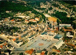 AK / Ansichtskarte Nouzonville Vue generale aerienne le centre ville Nouzonville