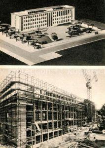 AK / Ansichtskarte Mailand Modell und Entstehung der ersten deutschen Schule Mailand