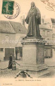 AK / Ansichtskarte Dreux Statue de Jean de Rotron Dreux