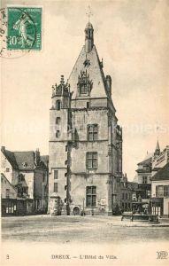 AK / Ansichtskarte Dreux Hotel de Ville Dreux