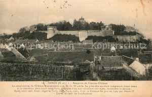 AK / Ansichtskarte Dreux Remparts de l Ancien Chateau Dreux