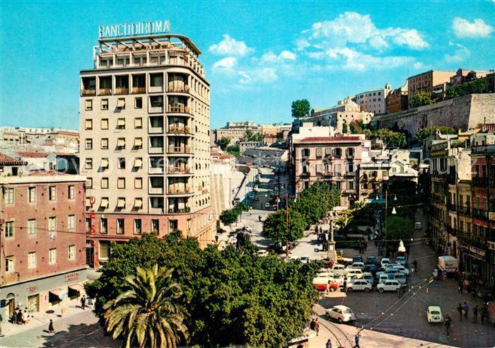 AK / Ansichtskarte Cagliari Piazza Yenne Cagliari