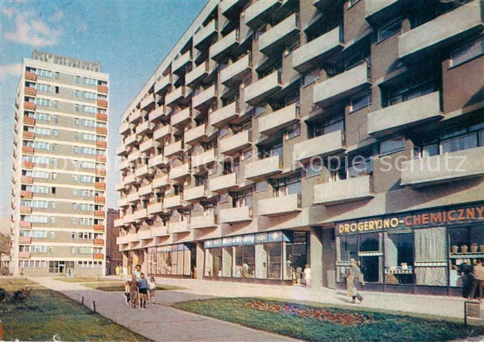 AK / Ansichtskarte Poznan_Posen Wohnblocks Poznan Posen