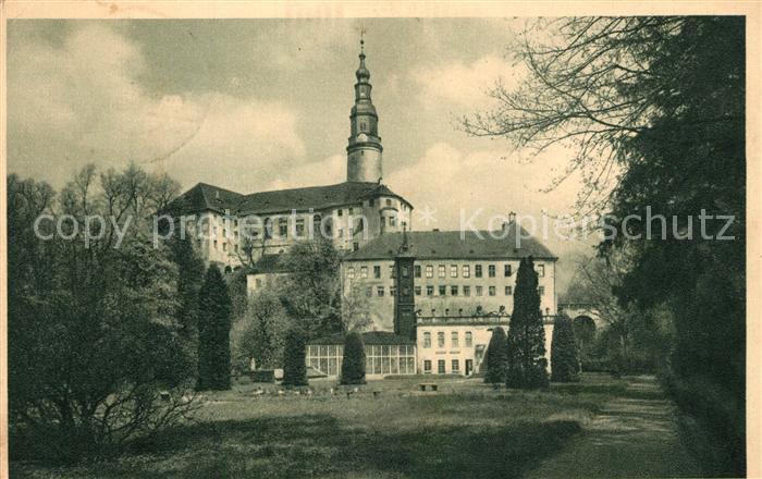 AK / Ansichtskarte Weesenstein Schloss Weesenstein