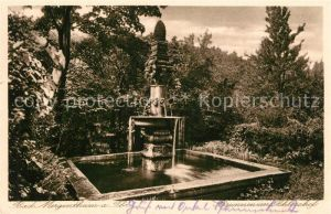 AK / Ansichtskarte Bad_Mergentheim Brunnen Schlosshof Bad_Mergentheim