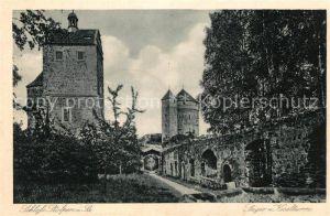 AK / Ansichtskarte Stolpen Schloss Seiger Koselturm Stolpen