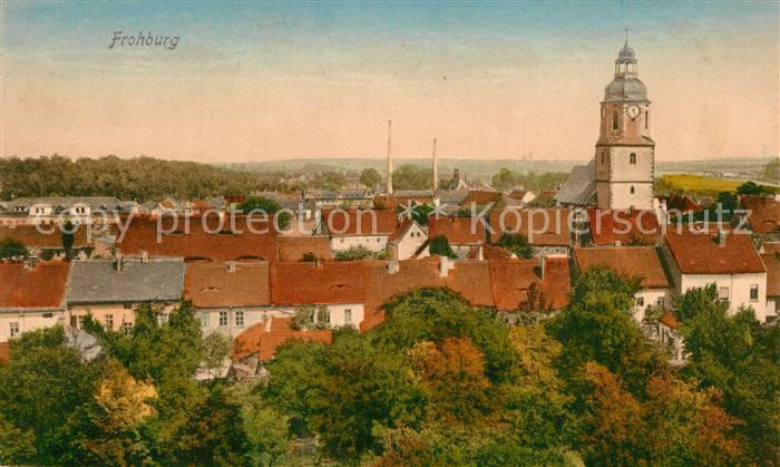 AK / Ansichtskarte Frohburg Stadtpanorama Frohburg