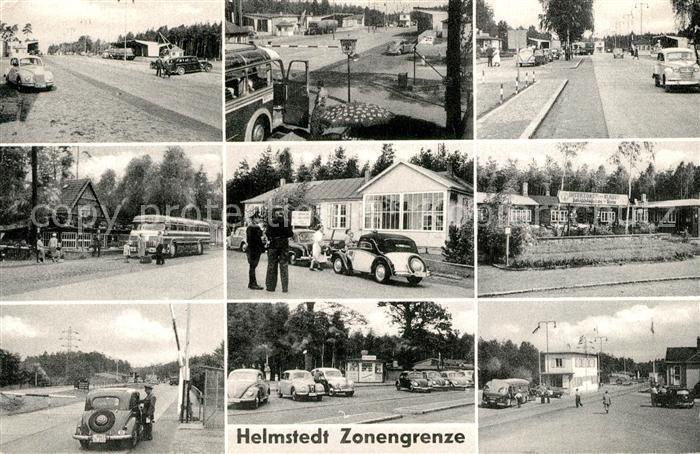 AK / Ansichtskarte Helmstedt Zonengrenze  Helmstedt