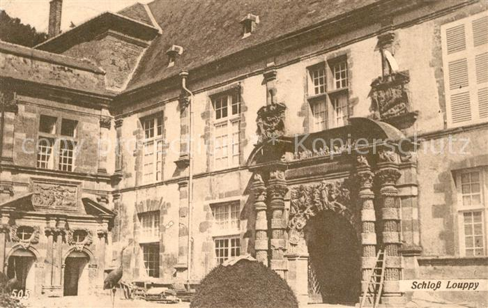 AK / Ansichtskarte Louppy le Chateau Schloss Louppy le Chateau