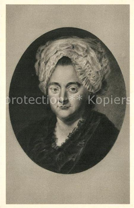 Ak Ansichtskarte Goethejohannwolfgangvon Catharina