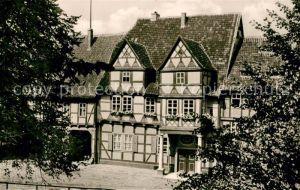 AK / Ansichtskarte Quedlinburg Klopstock Haus Quedlinburg