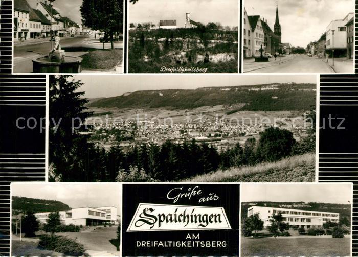 AK / Ansichtskarte Spaichingen Dreifaltigkeitsberg Brunnen Spaichingen