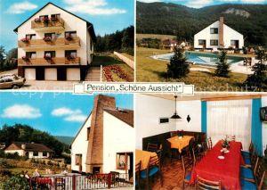 AK / Ansichtskarte Meinhard Pension Schoene Aussicht Meinhard