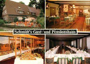 AK / Ansichtskarte Garstedt_Winsener_Geest Schmidts Gast  und Pensionshaus Garstedt_Winsener_Geest
