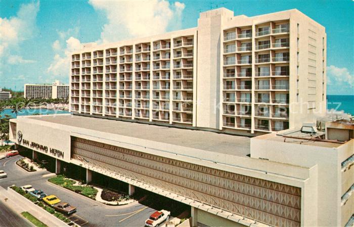 AK / Ansichtskarte San_Juan_Puerto_Rico San Jeronimo Hilton Hotel San_Juan_Puerto_Rico