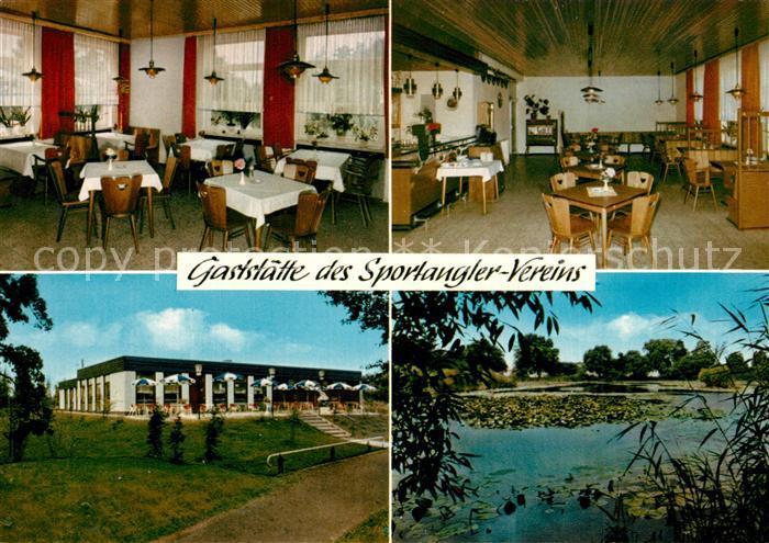 AK / Ansichtskarte Wuelfel Restaurant des Sportangler Vereins Wuelfel