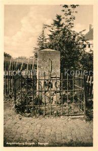 AK / Ansichtskarte Augustusburg Pranger Gedenkstein Augustusburg
