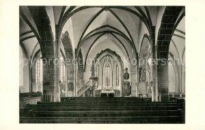 AK / Ansichtskarte Butzbach Markuskirche Innenansicht Butzbach
