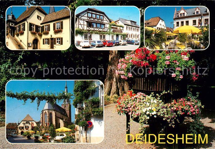 AK / Ansichtskarte Deidesheim Kirche Stadtansichten Deidesheim 0