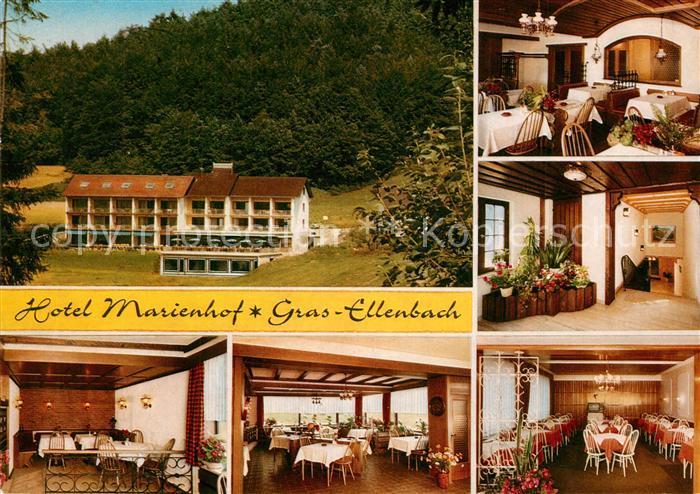 AK / Ansichtskarte Gras Ellenbach Hotel Marienhof Gras Ellenbach